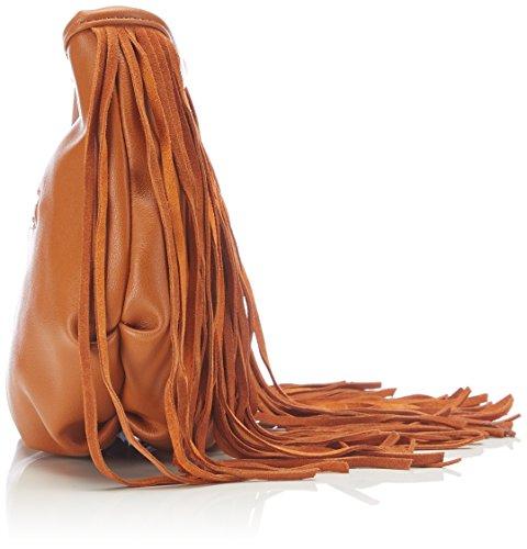 BUFFALO - Bag 550884 Pu, Borsa a spalla Donna Marrone (Braun (Tan 01))