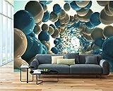 Hintergrundbild Wandsticker Wandtattoo Wanddekorationwallpaper Fresco Benutzerdefinierte Wohnzimmer Schlafzimmer Sofa Hintergrund 3D Bunte Ballon Ballon Boden Gum Wall Background150 * 105 Cm