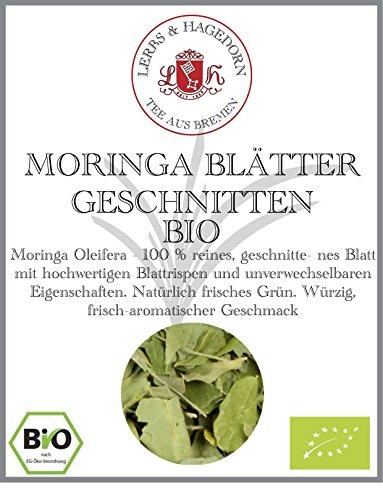 BIO MORINGA BLÄTTER GESCHNITTEN 1kg
