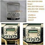 autostereo 11–417–Radio de coche para radio de coche para Ford Ranger 2006–2010Everest 2006–2013Mazda BT-502006Radio de coche Radio Estéreo