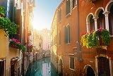 azutura Straße Kanal Venedig Fototapete Italien Tapete Schlafzimmer Haus Dekor Erhältlich in 8 Größen Mittel Digital