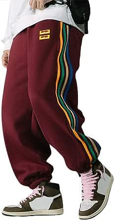 Irypulse Unisex Addensare Sport Pantaloni Jogger Trousers Sciolto Casual Street Pants Streetwear per Uomo Donna Giovani Autunno Inverno