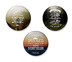 Wanderlust Collection - Set of 3 Badges