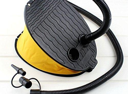 Kaifang Luftpumpe, Doppelfunktion Aufpumpen/Ablassen, Dreifachnutzung: Gas-, Mund-, Fuß-Luftpumpe, großer Blasebalg, Typ: Luftpumpe, 3000CC