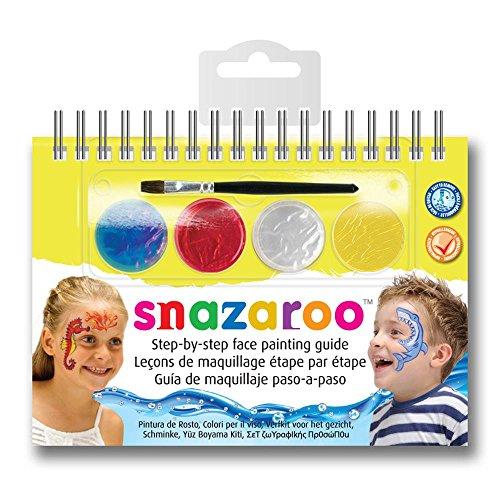 snazaroo-manual-a6-de-maquillaje-con-pintura-facial-y-guia-unisex-maravillas-marinas