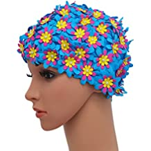 Amazon Fr Bonnet De Bain Fleur
