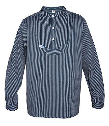 Modas Kinder Finkenwerder Fischerhemd BasicLine schmal gestreift, Größe:Kinder. 92