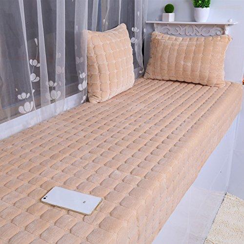 New day®-Flanella galleggianti stuoie finestra stuoie davanzale peluche materasso cuscini del divano cuscini coperte , 90*210