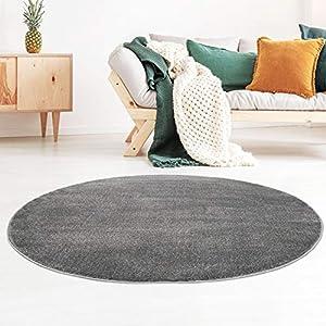 Teppich Rund 120 Cm Grau Deine Wohnideen De