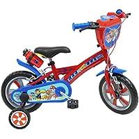 Paw Patrol–Bicicletta da Bambino, Bambini, Pat' Patrouille, Blu, 30,5 cm (12'')