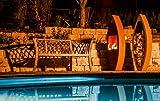Ferrum Holzlege Rustika 175cm Gr. I - Die XL Große Edelrost Rost Metall Neu