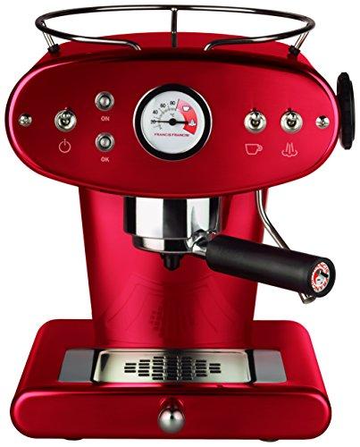 illycaffè Kaffeemaschine X1 Ese Trio, Farbe Marsala