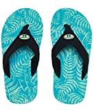 Animal Jekyl Slim Boys Flip-Flop - Marine Green UK 4