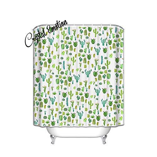 Decor, kaktus Vorhang für die Dusche, Textil, multi, 48x72 ()
