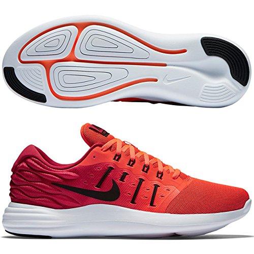Nike Lunarstelos - Scarpe da Ginnastica Uomo, Rosso, 44.5