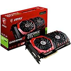 MSI GeForce GTX 1080 GAMING X 8G Scheda Grafica PCIe 3.0, 8 GB, GDDR5X, Frequenza 256bit