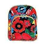 Kinderrucksack Kitarucksack Babyrucksack Backpack ALEGRIA aus wasserabweisendem Wachstuch, Handarbeit, Mädchen, Kinder, 2-6 Jahre
