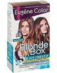 Eugène Color - Blonde Box - Le Kit Créatif de Coloration pour réaliser Tie & Dye ou Ombré Hair