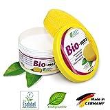 BioMex Detergente Solido Universale. Naturale e biodegradabile. Formato 300gr, 1 Spugna Inclusa