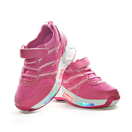 Usay like , Mädchen Sneaker Rosa X