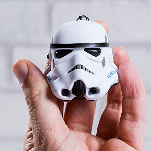 Thumbs Up! Stormtrooper - Altavoz con Bluetooth, Blanco