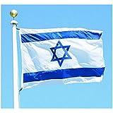 160 * 240 cm bandera nacional pabellón todos los países Varios países en el mundo Poliéster bandera de la bandera Israel