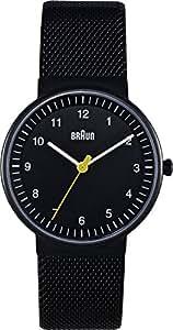 Braun Ladies Quartz 3 Hand Movement Stainless Steel Watch with Mesh Bracelet