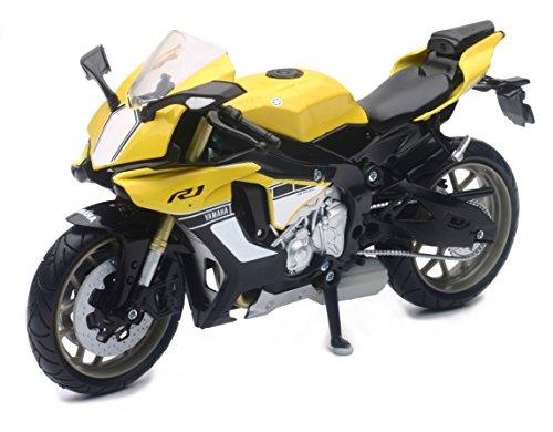 New Ray - Yamaha YZF-R1, Escala 1: 12, Color Amarillo. Código: 57803A