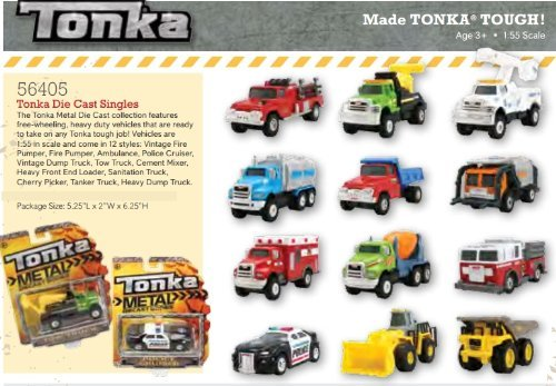 Tonka Metal Die Cast Bodies Heavy Dump Truck by Reeves Int by Reeves Int