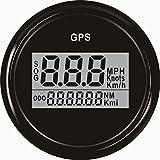 Garantierter digitaler GPS-Geschwindigkeitsmesser, Entfernungsmesser für Auto oder Boot, mit...