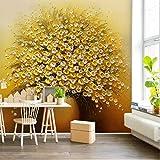 Amazhen Personnaliser la Peinture à l'huile de Luxe doré Vase 3D Mural Vivant canapé Fond Peinture Murale Papier Peint décoratif,368cmx254cm