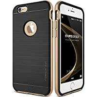 Cover iPhone 6/6S, VRS Design, [New High Pro Shield] [Oro]