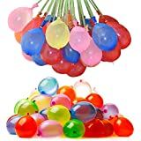 111pcs/bag Water Balloons Bunch Filled With Water Inflatable Balls Party Decoration Latex Toy - Bundle
