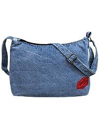 KUJING Ladies Handbags Quality Denim Women Shoulder Messenger Bag Simple Fashion Women Shopping Bags Hot Sale...