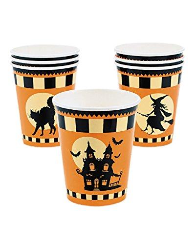 Haunted Halloween House (Halloween Kinder Party Pappbecher