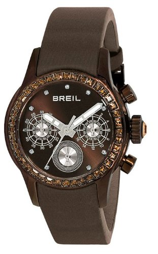 Breil TW0626 - Reloj de pulsera para mujer, marrón/plata