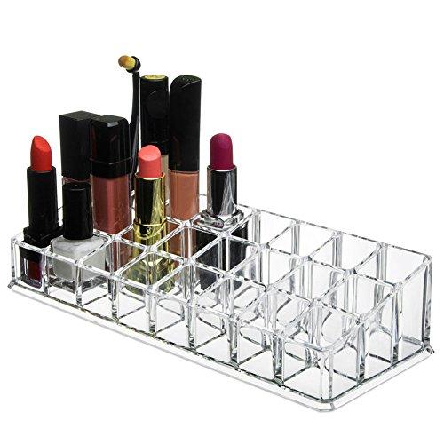 Rokoo Rouge à lèvres Support Présentoir Clair Acrylique Maquillage Brosses Vernis À Ongles Organisateur Dresser Divers Cosmétique Cas de Stockage