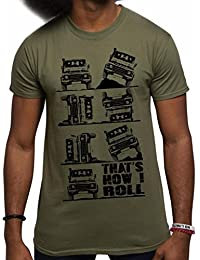 """T-Shirt pour hommes slogan """"THAT'S HOW I ROLL"""""""