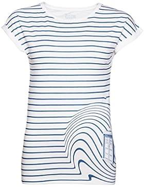 Womens Tardis Swirl medico che t shirt da BBC Worldwide