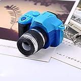 Artistic9(TM) Hot Sale Mini Camera Kids Toy Charm Keychain Pendant With Flash Light&Sound Gift (Blue)
