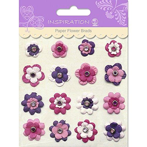 Paper Flower Brads (PAPER FLOWERS BRADS MOTIV 04)