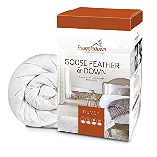 Snuggledown Goose Feather and Down All Seasons Duvet, 13.5 Tog - Super-King