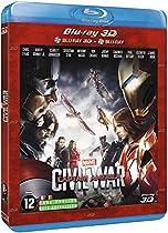 Captain America : Civil War (Blu-Ray 3D + Blu-Ray)