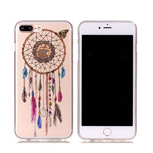iPhone 7 Plus Custodia,iPhone 7 Plus Case,Patate amaretto Custodia in TPU Gel Ultra sottile [Trasparente] Custodia protettiva in gomma flessibile case cover para for iPhone 7 Plus 5.5inch colour & 8