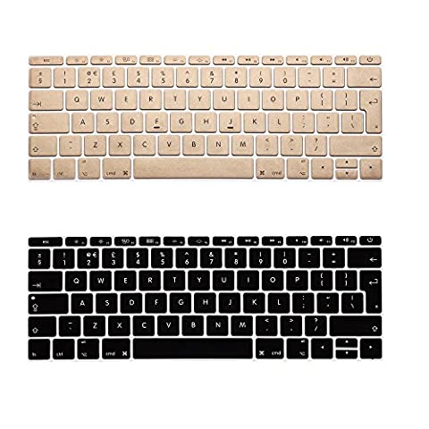 i-Buy 2PCS Silicone Keyboard Cover Film for Apple Macbook 12