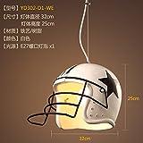 gqlb Persönlichkeit Kreative Studie Lounge Kaffee Lounge Kopfhörer minimalistisch Small Kronleuchter Lampen 01