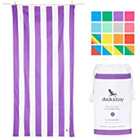 Microfibre Beach Towel for Travel - Quick Dry Towel, Lightweight Swim Towel, Compact Sand Free Beach Towel (Extra Large 200x90cm, Large 160x80cm, Round Beach Blanket) - As Seen On Dragons' Den