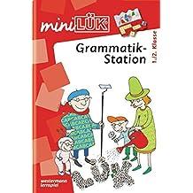 miniLÜK: Grammatikstation 1./ 2. Klasse