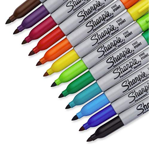 NEW Sharpie 28 Pack Fine Permanent Markers. Limited Edition Set