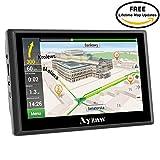 Ayzaw Drive 720 World - Navegador GPS para Camión con Bluetooth FM 8GB/256MB Actualización Gratis...